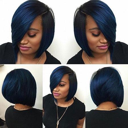 Black Bob Hair