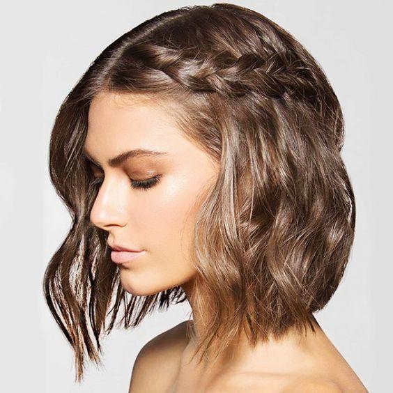 Styling short hair styling short hair 1 photo