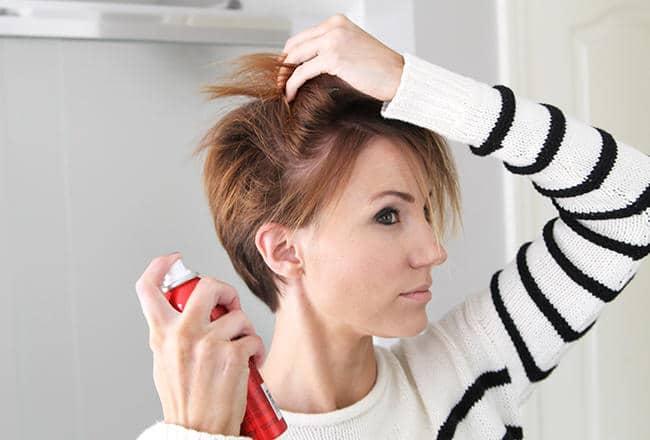 Styling short hair styling short hair 19 photo