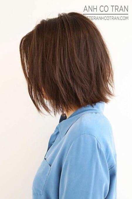 Short Straight Hair, Bob Choppy Wavy Short