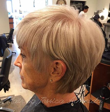 Blonde Hair Color, Blonde Pixie Choppy Bob