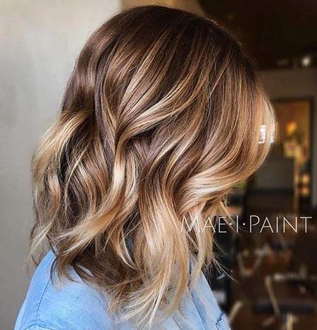 Brown Blonde Balayage Color