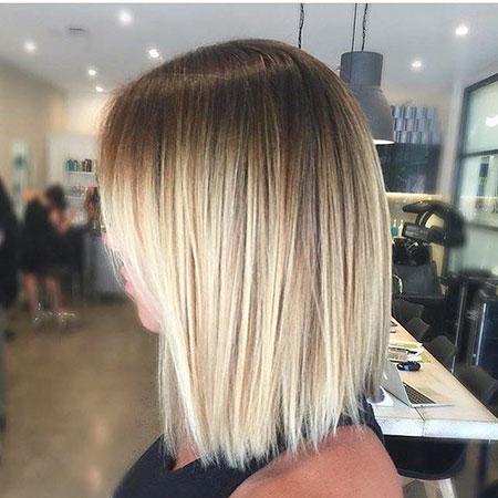 Blonde Balayage Color Platinum