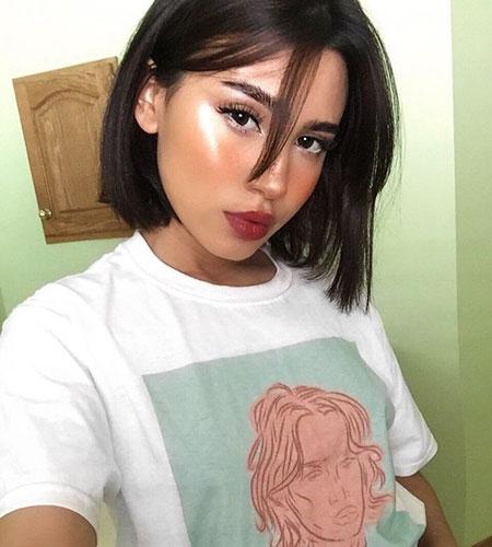 Wig Makeup Length Girl