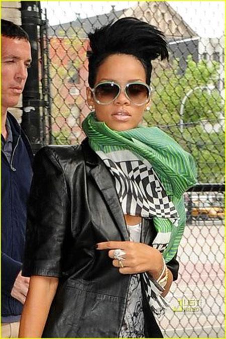 Rihanna Sunglasses Short