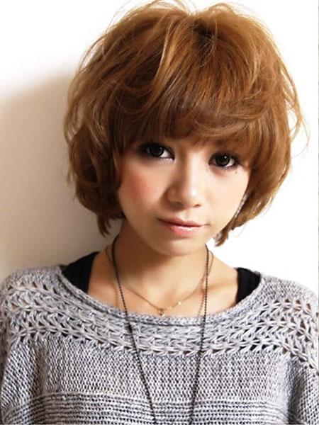 Short Cute Wig Up