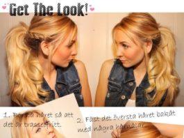 Holiday Ponytail Hairstyles Tutorial: Ponytail Braids