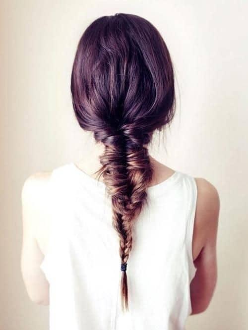 Messy Braid for Long Hair