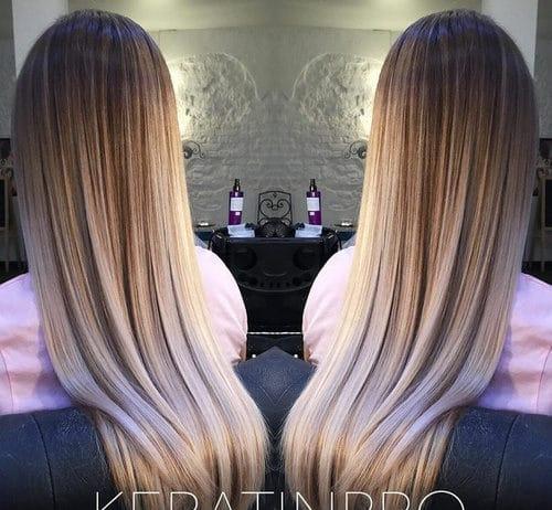18 Pretty Winter Ombre Hair Ideas