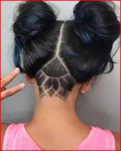 Shaved Hair Designs For Women Short Hair Models