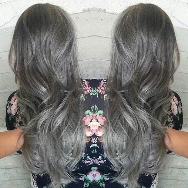 20 Trendy Celebrity Gray Hair Color Ideas 2019 Short