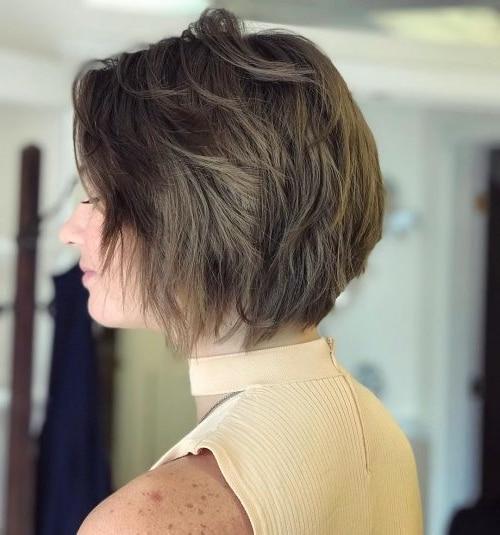 50 Short Messy Hairstyles for Fine Hair 2019   Short Hair ...