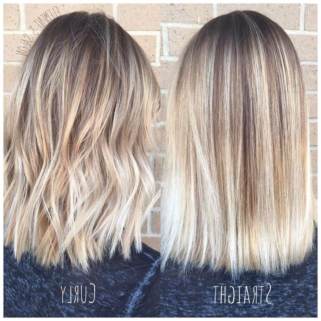 20 Blonde Balayage Ideas for Short Straight Hair , Short