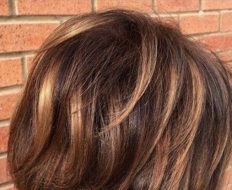 28 Incredible Examples of Caramel Balayage on Short Dark Brown Hair.