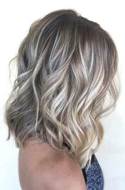 10 Ways To Wear Ash Blonde Balayage Long Bob Hairstyles 2019