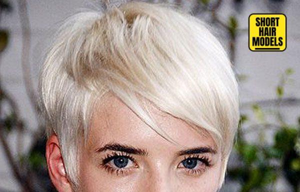 Most Famous Short Hair Models
