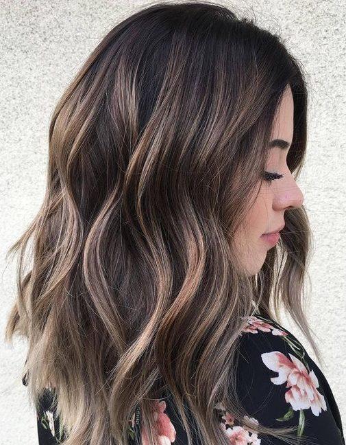Brown summer hair colors