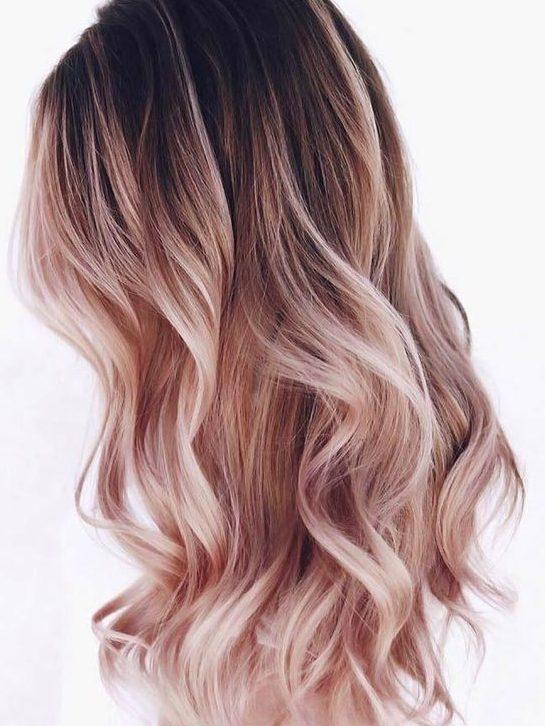 Summer ombre hair color ideas