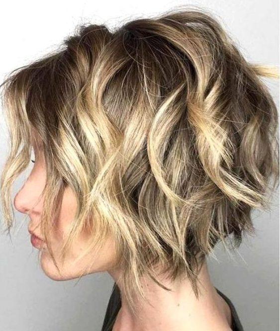 Thin hair short messy hairstyles