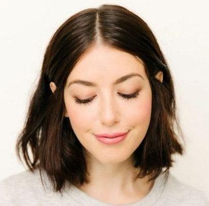 Above shoulder length hair