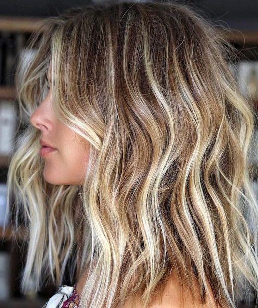 Cali Blonde for short wavy hair