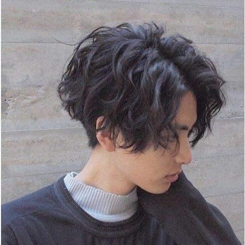 Curly tomboy haircuts