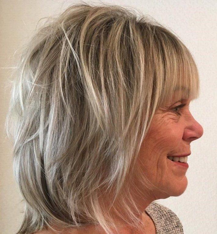 Fine thin medium length hairstyles for thin hair over 50