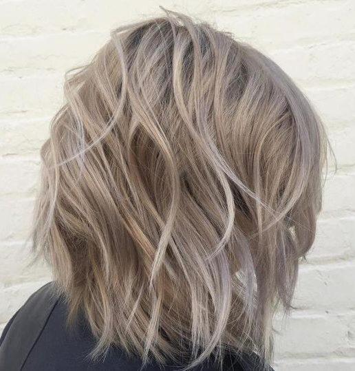 Medium blonde for short hair