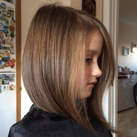 Medium hair cut