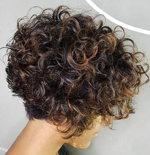 Medium length low maintenance curly hairstyles