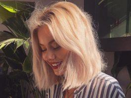 Natural Blonde for short hair