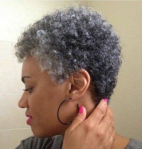 Older women short hairstyles for black women over 50