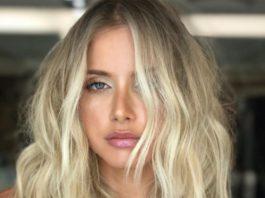 Round face medium length blonde hairstyles