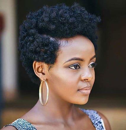 Short Natural Hairtyles for Black Women