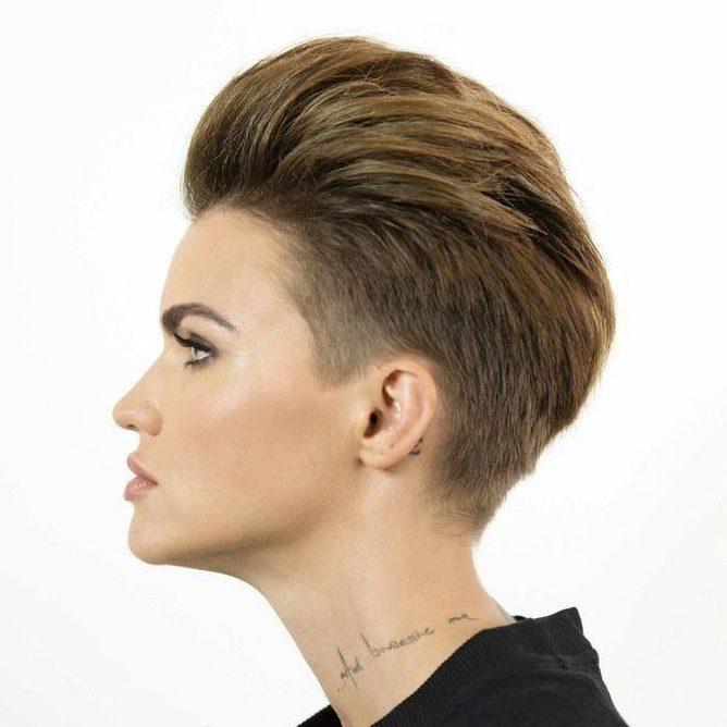 Short hair tomboy hairstyles