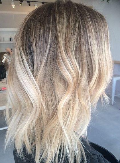Summer hair colors blonde