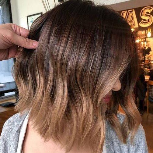 Sun kissed brown hair hair highlights