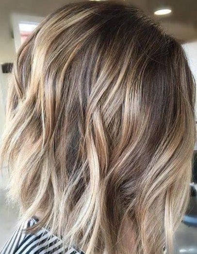 Sun kissed dirty blonde hair for short hair