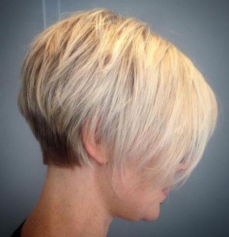 Thin hair low maintenance short hairstyles for fine hair