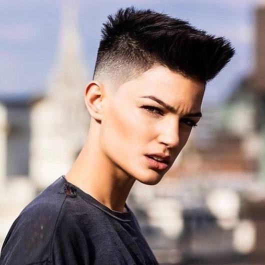 Tomboy butch short haircuts