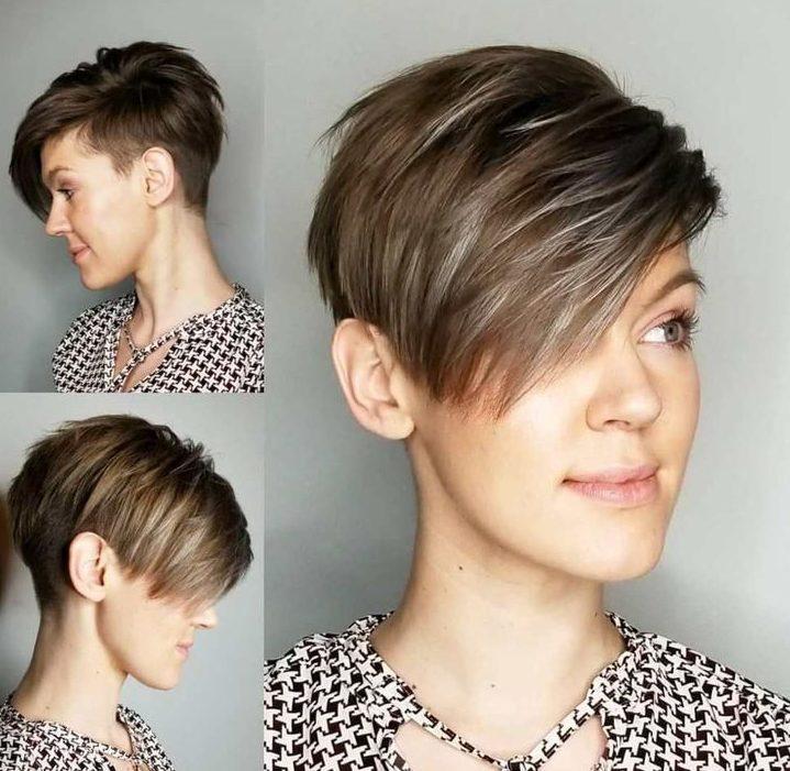 Tomboy pixie cut short haircutsv