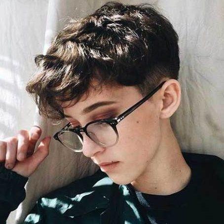 Tomboy short hair short haircuts