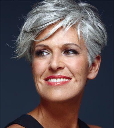 Trendy short hairstyles for older ladies