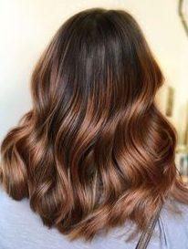 caramel auburn chestnut hair color