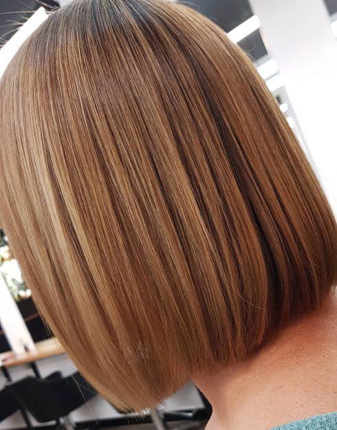caramel honey brown chestnut hair color