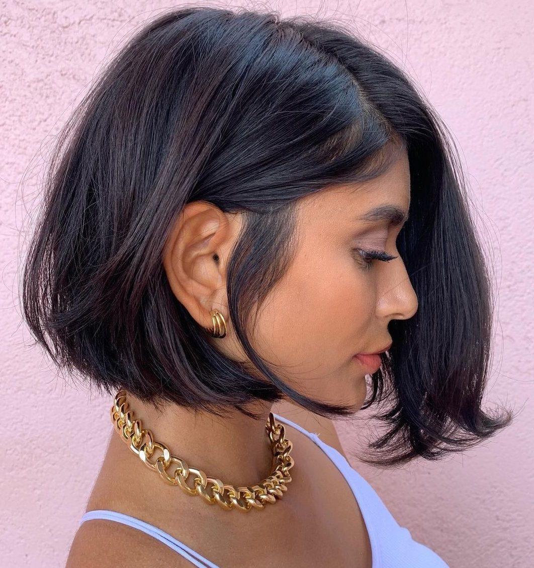 chin length bob haircut
