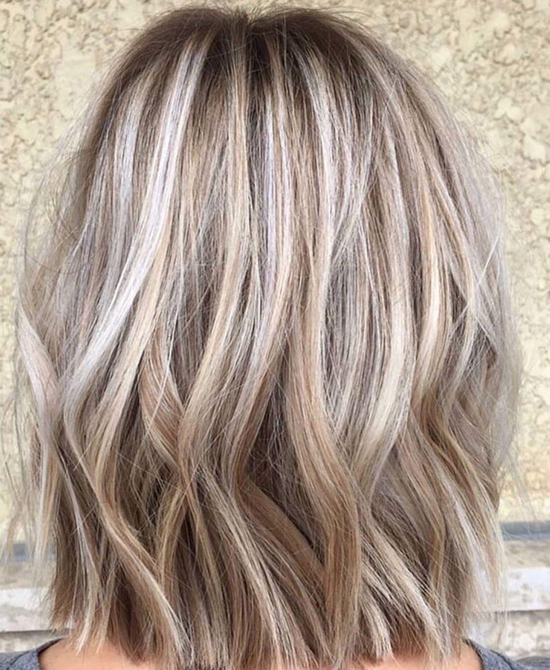 Dark blonde hair colors for short hair