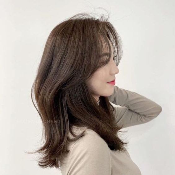 korean hershey cut hair