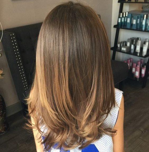 layered hair for girls kids