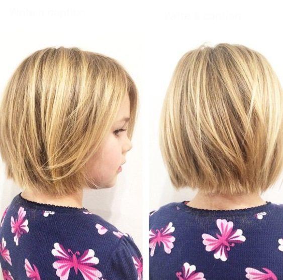 long bob haircut for girls